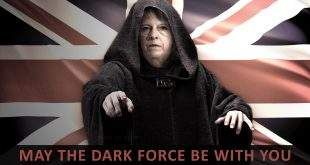 MAY THE DARK FORCE BE WITH YOU
