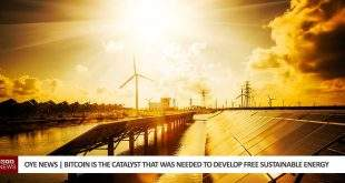 Bitcoin is The Catalyst That Was Needed To Develop Free Sustainable Energy
