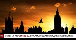 British MP Drops Bombshell In Paliament Including Industrial Scale Child Rape