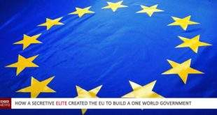 How a secretive elite created the EU to build a world government