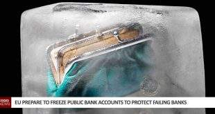EU freeze bank accounts