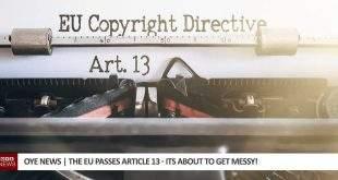 The EU passes Article 13