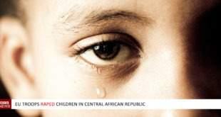 EU troops raped children in Central African Republic