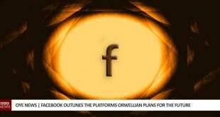 Facebook outlines orwellian plans for the future