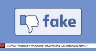 Frances 'Fake News' Crackdown Tools Produce Some Hilarious Results!