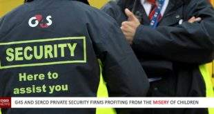 Private security firms profit from misery