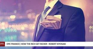 how the rich get richer - robert kiyosaki
