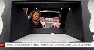 Indiana Installs Baby Drop-Off Boxes So Moms Can Abandon Their Infants.