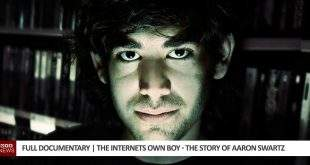 Internets own boy - The Story of Aaron Swartz