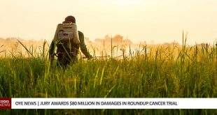 Jury awards 80 million in damages to roundup cancer victim