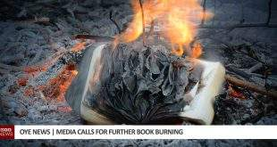 media calls for further book burning