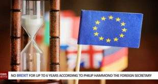 No Brexit for up to 6 years according to Philip Hammond the Foreign Secretary