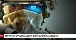 Pentagon's 'Brain Enhancer' to Create Super Human Soldiers
