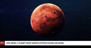 Planet wide water system found on Mars