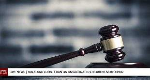 Rockland Country Ban on Unvaccinated Children Lifted