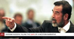 Saddam Hussein: Filling the gaps of a western narrative