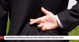 Snoopers Charter Allows UK State Prosecutors To Lie In Court