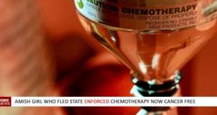 Amish girl who fled state enforced Chemotherapy now Cancer free