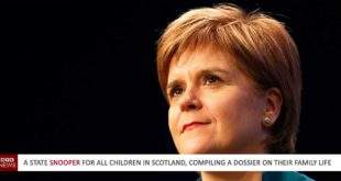 A State snooper for all children in Scotland, compiling a dossier on their family life