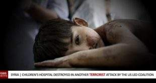 Syria | Children's Hospital Destroyed In Yet Another Terrorist Attack By The US Led Coalition