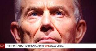 The Truth about Tony Blair and his War based on Lies
